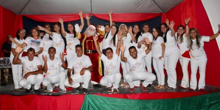 Com grande festa, prefeitura promoveu a abertura do projeto Santana do Mundaú vivendo a magia do Natal
