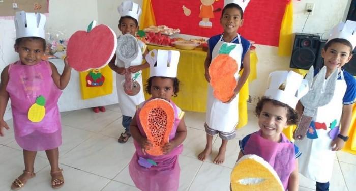 Estudantes participam de atividades da Jornada de Educação Alimentar e Nutricional