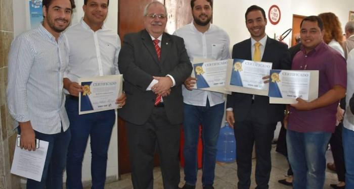 Em solenidade no MP prefeito Arthur Freitas recebe reconhecimento por encerramento do lixão