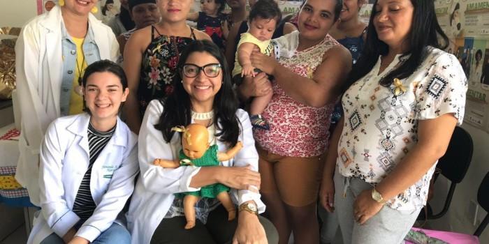 Saúde promove ações em alusão ao 'Agosto Dourado'