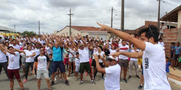 III edição do Festival Recreativo e de Dança leva alegria e diversão para crianças e jovens
