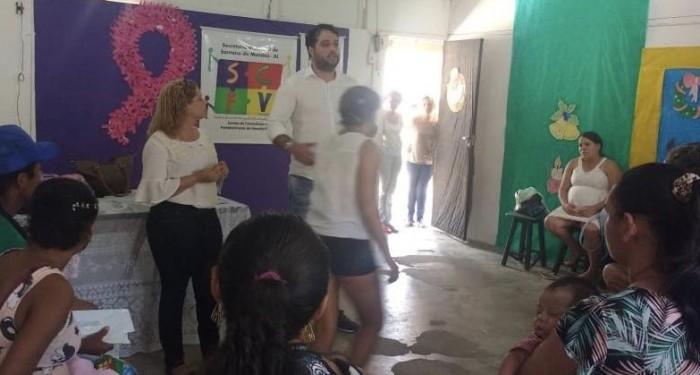 Prefeito Arthur Freitas participa de encontro com gestantes e nutrizes assistidas pelos programas sociais