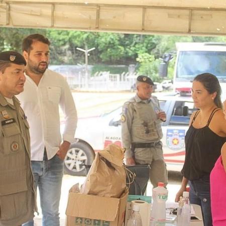 Prefeitura instala barreira sanitária em divisa do município com Correntes/PE