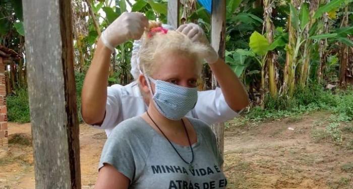 Saúde inicia distribuição de máscaras para aposentados, profissionais, comunidades quilombolas e pessoas em vulnerabilidade social