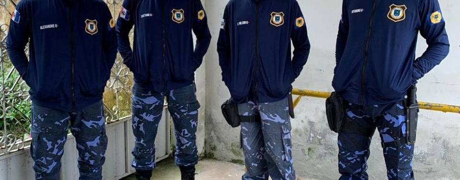 Guardas Municipais recebem equipamentos para melhor desempenho das funções nas barreiras sanitárias