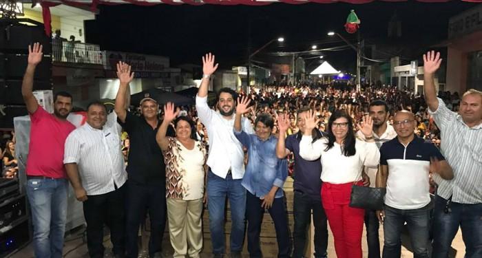 Prefeitura encerra projeto Santana do Mundaú Vivendo a Magia do Natal com grande festa