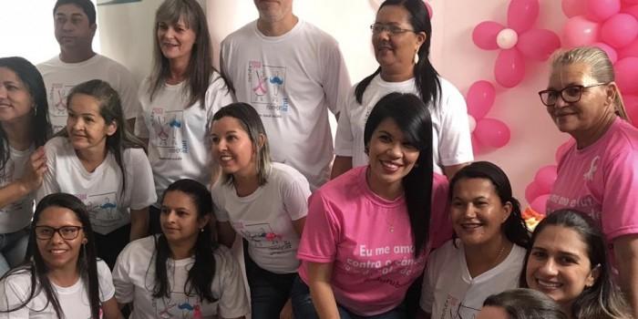 Outubro Rosa: Durante todo o mês, Saúde promoveu ações de conscientização e prevenção