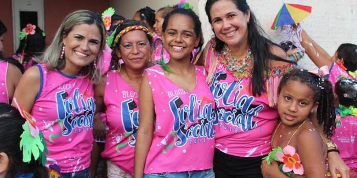 Bloco Folia Social invade as ruas do nosso município