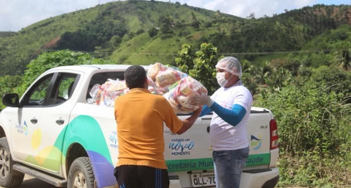 Secretaria de Assistência Social concluiu entrega de cestas para mais de mil famílias