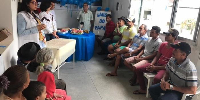 Secretaria promove ações para incentivar os cuidados com a saúde dos pais