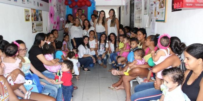Secretaria de Saúde celebra Semana da Criança