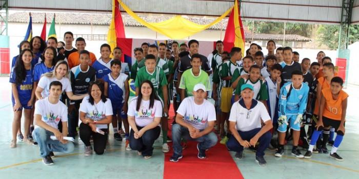 Abertura dos jogos estudantis destaca espírito esportivo e união