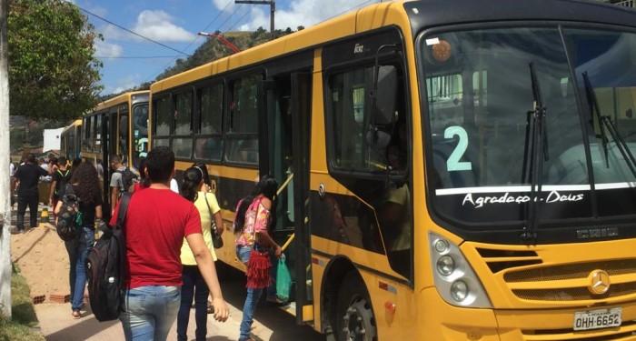 Prefeitura disponibiliza  ônibus gratuito para inscritos do Enem