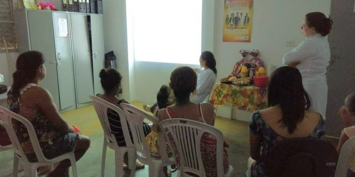 Secretaria de Saúde realiza atividades para incentivar aleitamento materno exclusivo