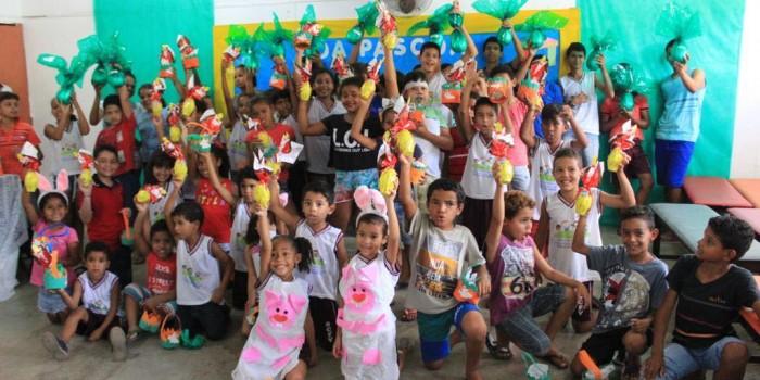Assistência Social comemora Páscoa com usuários do SCFV/CRAS