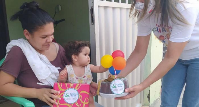Programa Criança Feliz: Assistência Social comemora aniversariantes do mês