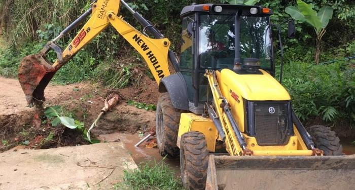 Prefeitura intensifica manutenção de estradas