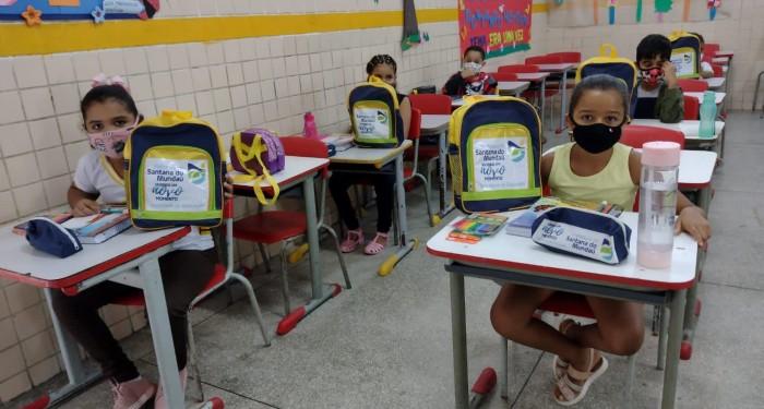 Educação avança na retomada das aulas presenciais