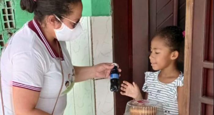 Assistência Social entrega lanches a 300 crianças e adolescentes do município