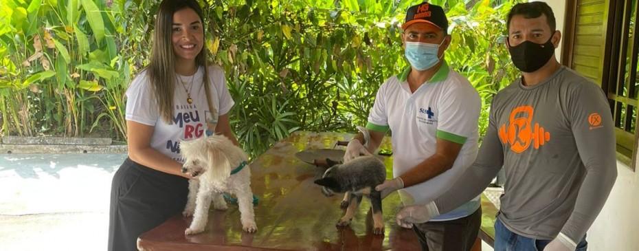 Vacinação Antirrábica inicia casa a casa no município