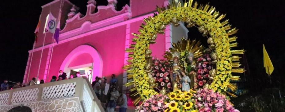 Município celebra dia de Nossa Senhora SantAna com missa e carreata