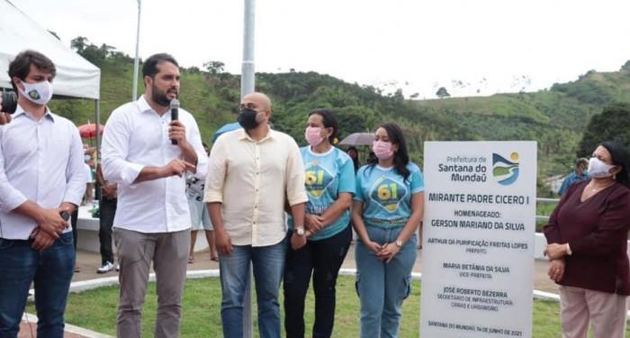Prefeitura entrega Mirante Padre Cícero I à população