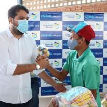 Assistência Social entrega 1085 cestas às famílias em situação de extrema pobreza